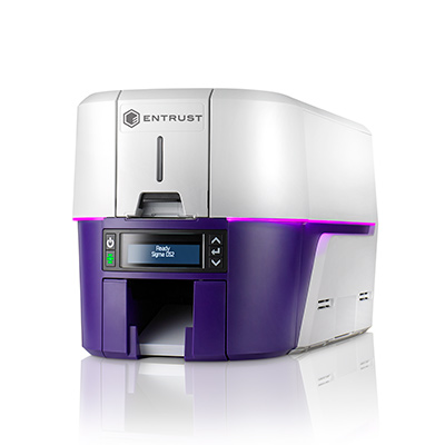 Datasheet de la impresora Entrust Sigma DS2