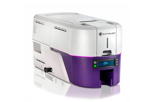 Impresora de tarjetas pvc Entrust Datacard Sigma DS1