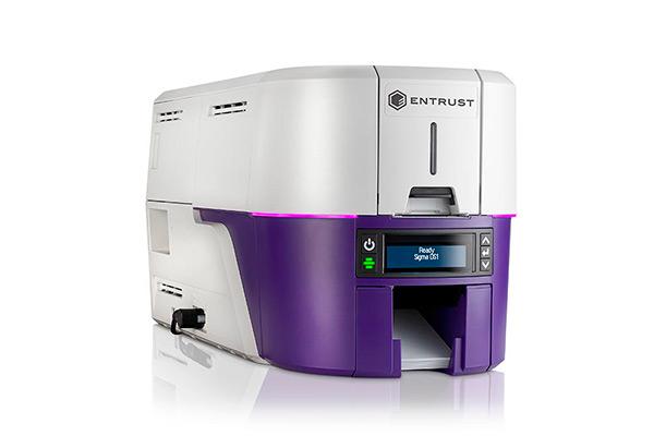 Impresora Entrust Datacard Sigma DS1 vista derecha