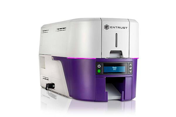 Impresora Entrust Datacard Sigma DS2 vista derecha