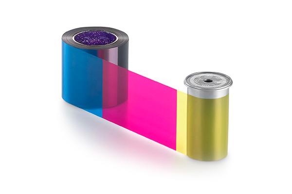 Consumibles Entrust: Cinta a color CMYK